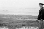 Ike overlooking Omaha Beach