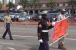 Veteran's Day parade in San Diego