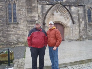 Paul & Trevor in Sainte Mère Eglise 2013