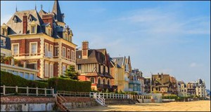 Deauville seafront